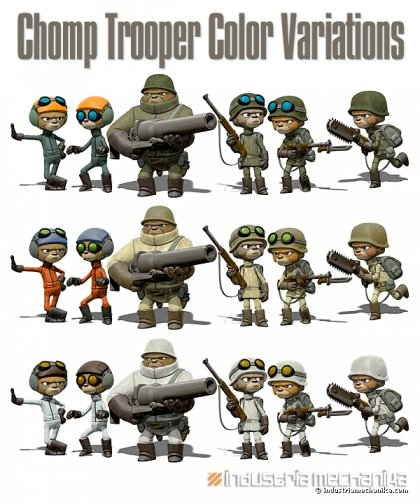 Chomp Trooper Variations