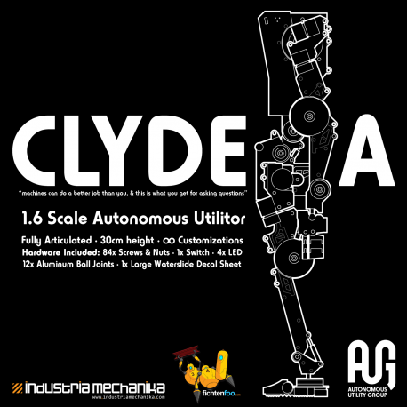 AUG Clyde.A - 1/6 Full-Action Resin Kit [Coming Soon]