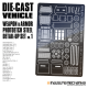 Die-Cast Vehicle Photoetch Detail Set