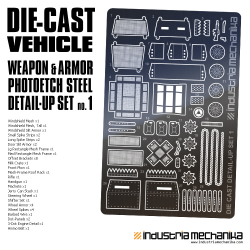 Die-Cast Vehicle Photoetch Detail Set 1 [PREORDER]