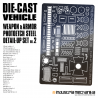 Die-Cast Vehicle Photoetch Detail Set 2  [PREORDER]