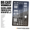 Die-Cast Vehicle Photoetch Detail Set 3  [PREORDER]