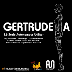 AUG Gertrude.A - 1/6 Full-Action Resin Kit [COMING SOON!]