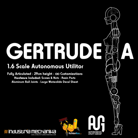 AUG Gertrude.A - 1/6 Full-Action Resin Kit