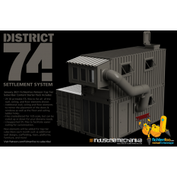 District 74 Settlement System Pack 1 (3D PRINT FILES ONLY)