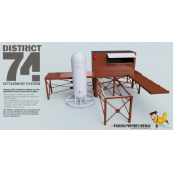District 74 Settlement System Pack 2 (3D PRINT FILES ONLY)
