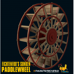 Sunken Paddlewheel (3D PRINT FILES ONLY)