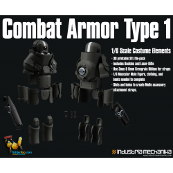 1/6 Combat Armor (3D PRINT FILES ONLY)