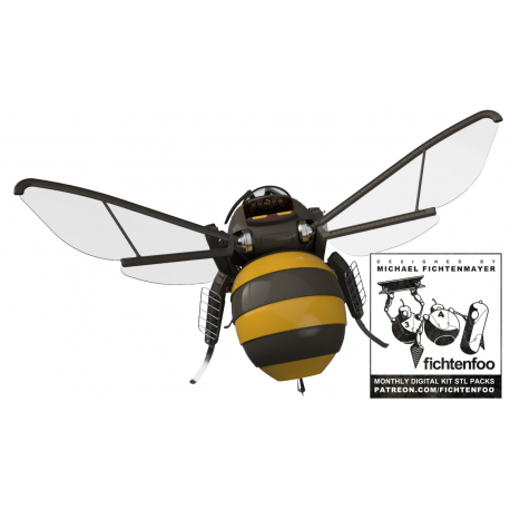 The Bumble'Thopter (3D PRINT FILES ONLY)