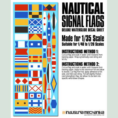 Waterslide Nautical Signal Flags