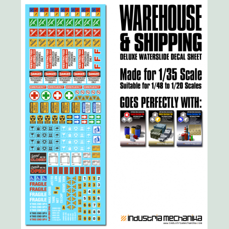 Warehouse and Shipping Decals