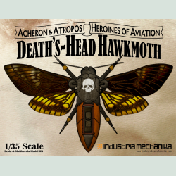 Deaths-Head Hawkmoth (PREORDER)