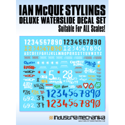 Ian McQue Decal Set