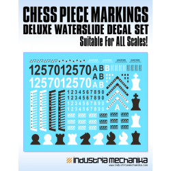Chess Piece Decal Set