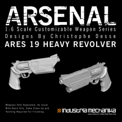 [ARSENAL] ARES 19 Heavy Revolver - Coming Soon